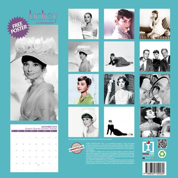 03dee1e3c3 Audrey Hepburn naptár 2019 Audrey Hepburn naptár 2019