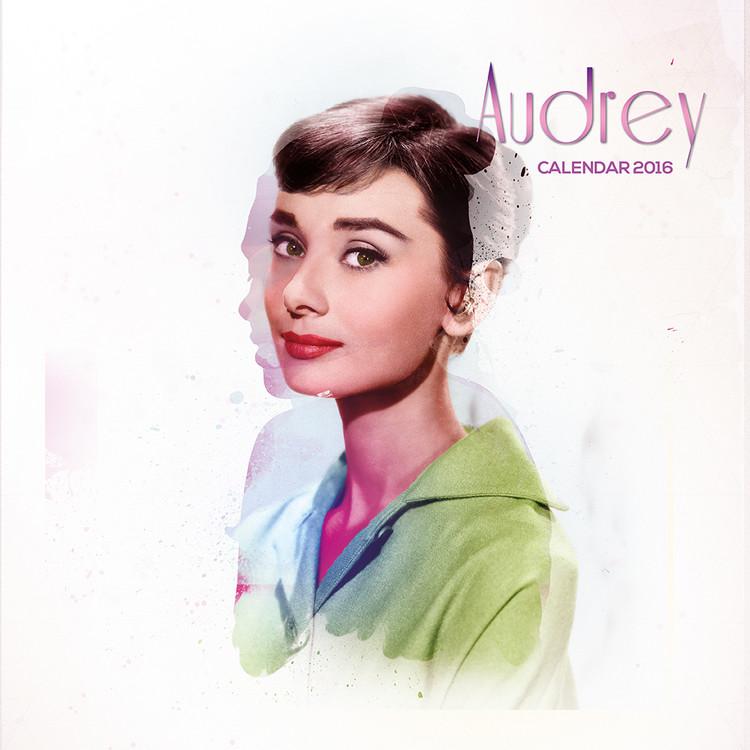 Audrey Hepburn naptár 2017