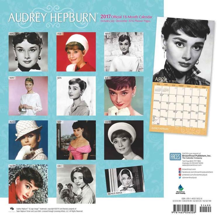 298184d6ac Audrey Hepburn naptár 2019 az Europosters.hu