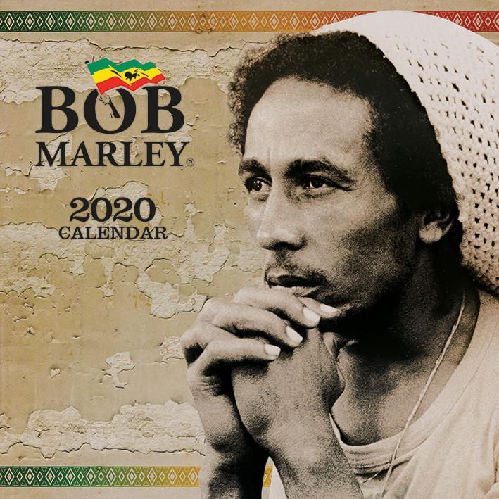 Bob Marley naptár 2020