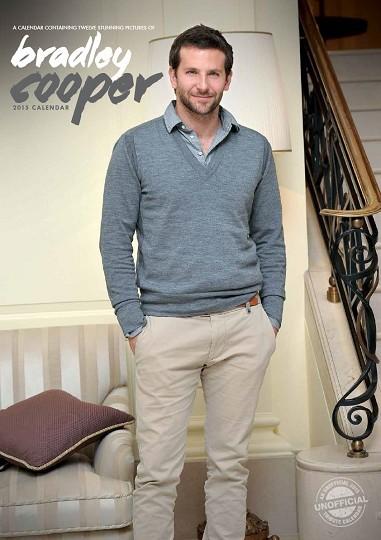 Bradley Cooper naptár 2017