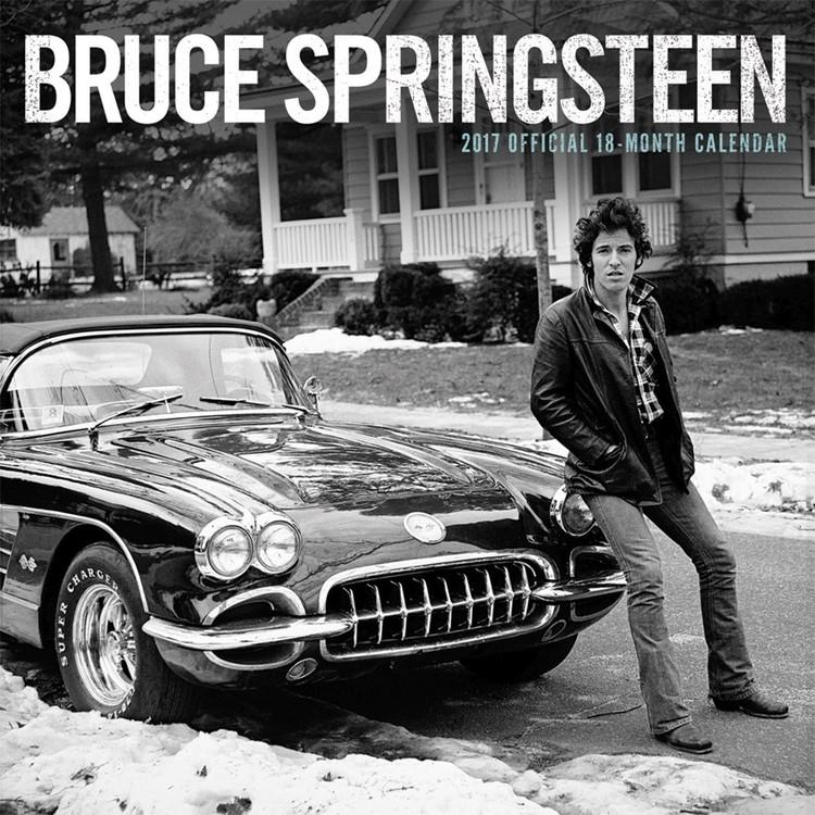 Bruce Springsteen naptár 2017