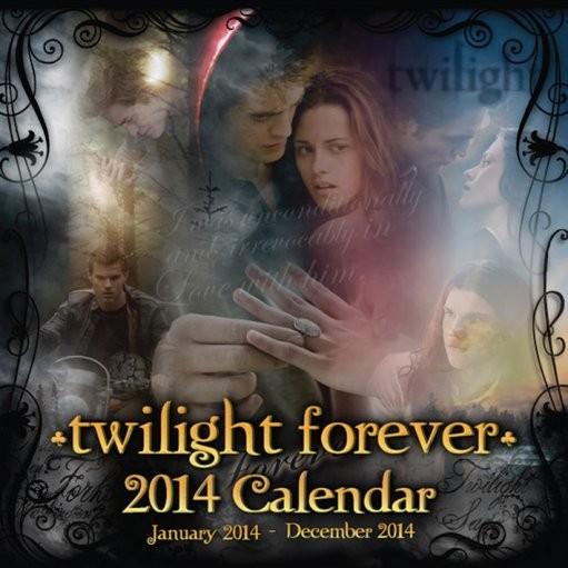 Calendar 2014 - TWILIGHT forever naptár 2017