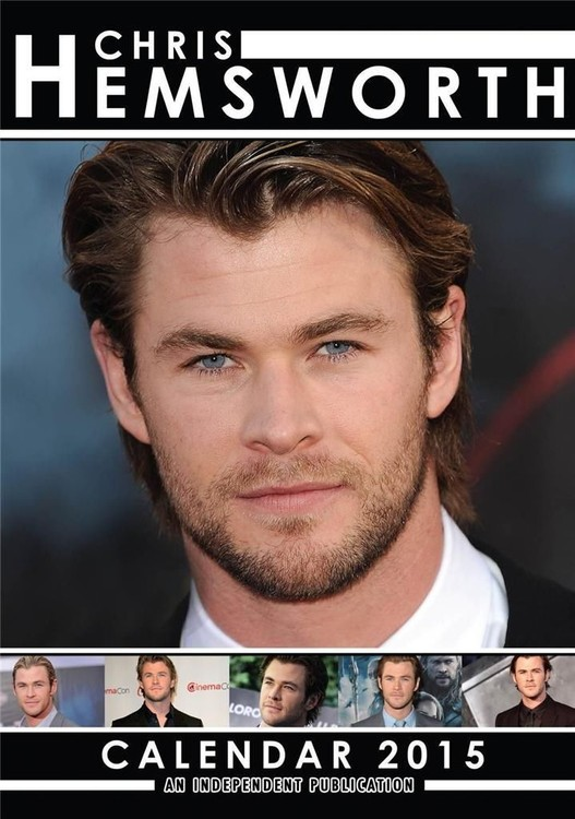 Chris Hemsworth naptár 2017