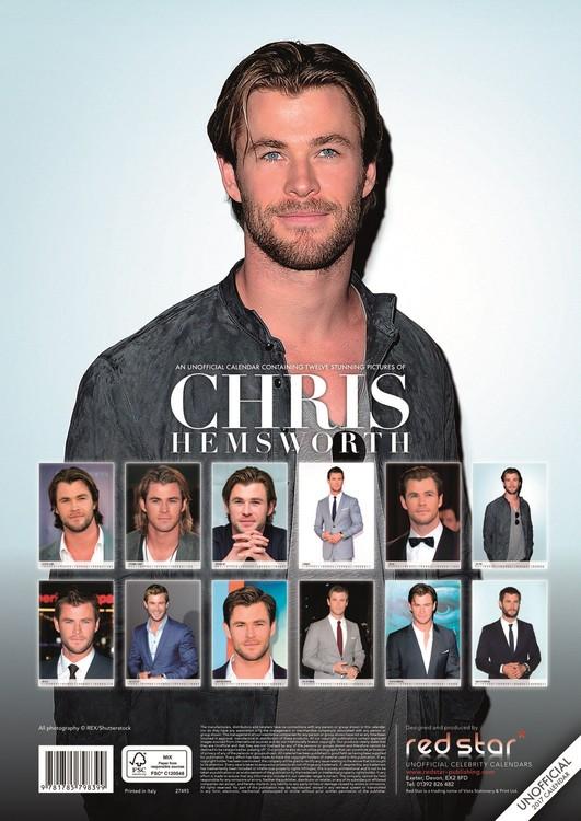 Chris Hemsworth naptár 2018