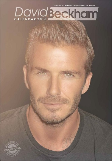 David Beckham naptár 2016