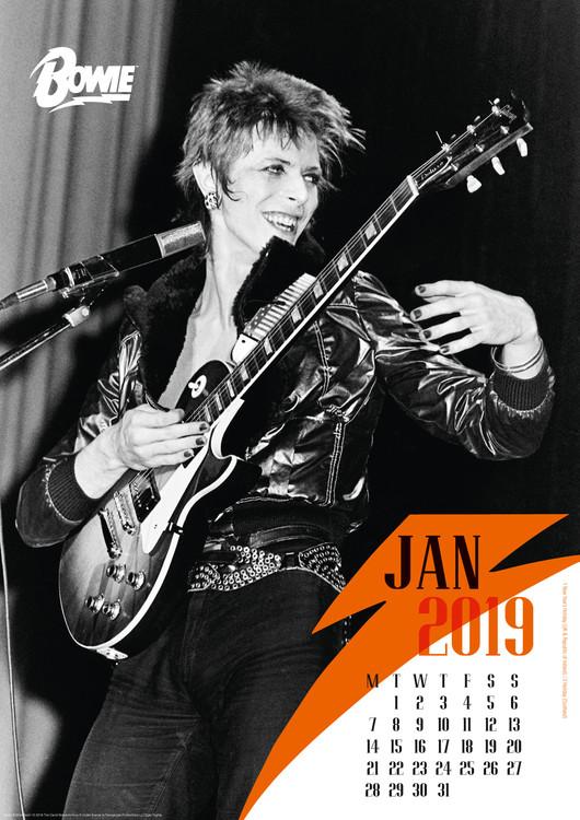 2019 dávid naptár David Bowie naptár 2019 az Europosters.hu 2019 dávid naptár