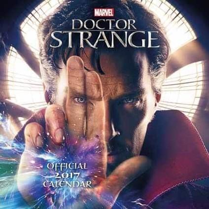 Doktor Strange  naptár 2017