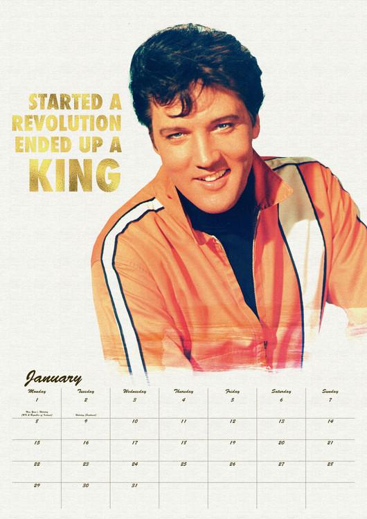 Elvis naptár 2019