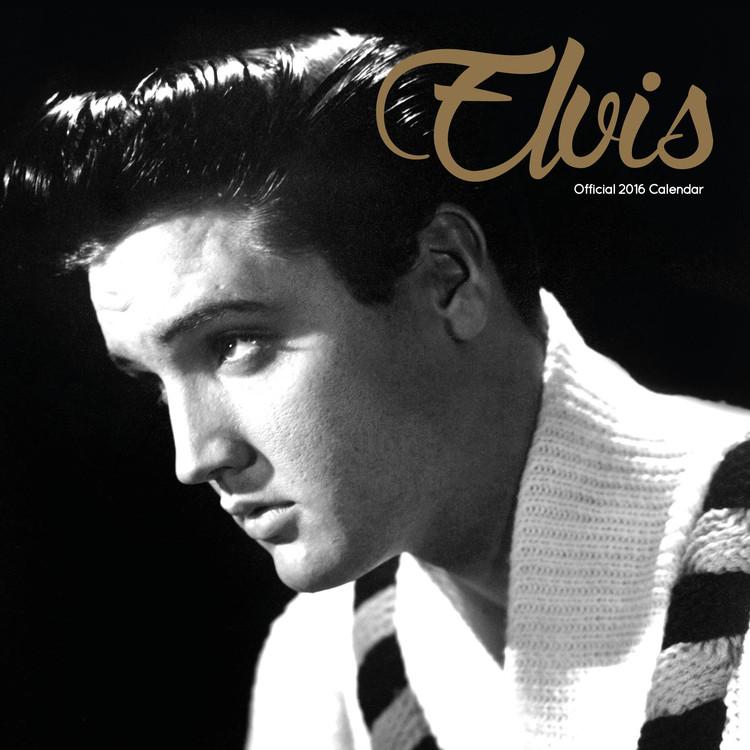 Elvis Presley naptár 2016