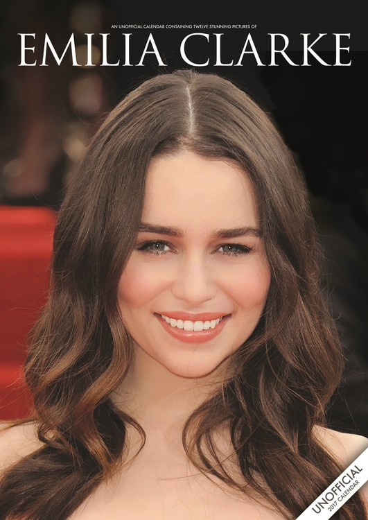 Emilia Clarke naptár 2018