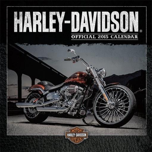 Harley Davidson naptár 2017