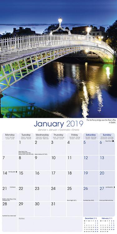 Ireland naptár 2019