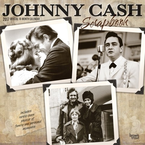 Johnny Cash naptár 2017