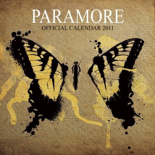 Kalendář 2011 - PARAMORE naptár 2016