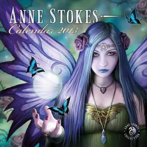 Kalendář 2013 - ANNE STOKES naptár 2017