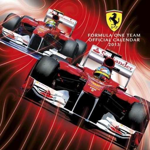Kalendář 2013 - FERRARI F1 naptár 2017