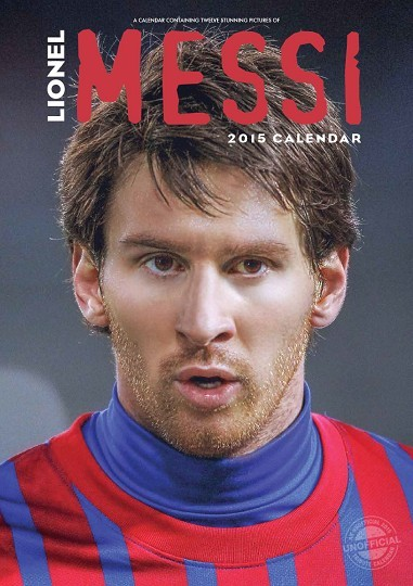 Lionel Messi naptár 2017