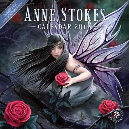 Naptár 2012 - ANNE STOKES naptár 2017