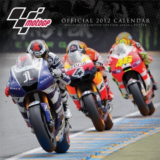 Naptár 2012 - MOTO GP naptár 2017