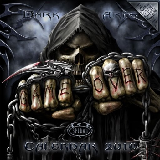 Official Calendar 2010 Spiral naptár 2017
