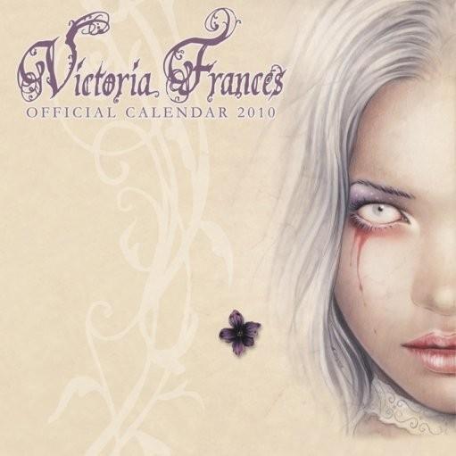 Official Calendar 2010 Victoria Frances naptár 2017