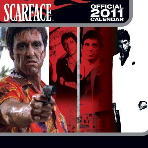 Official Calendar 2011 - SCARFACE naptár 2017