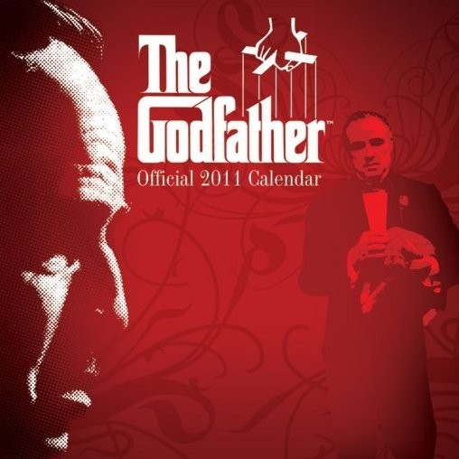Official Calendar 2011 - THE GODFATHER naptár 2016