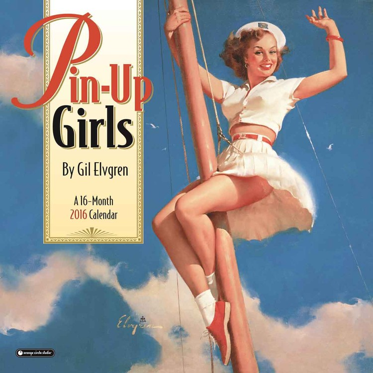Pin-Up Girls naptár 2017