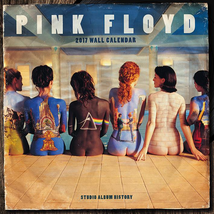 hr naptár 2019 Pink Floyd naptár 2019 az Europosters.hu hr naptár 2019