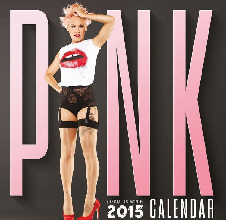 Pink - P!NK naptár 2017