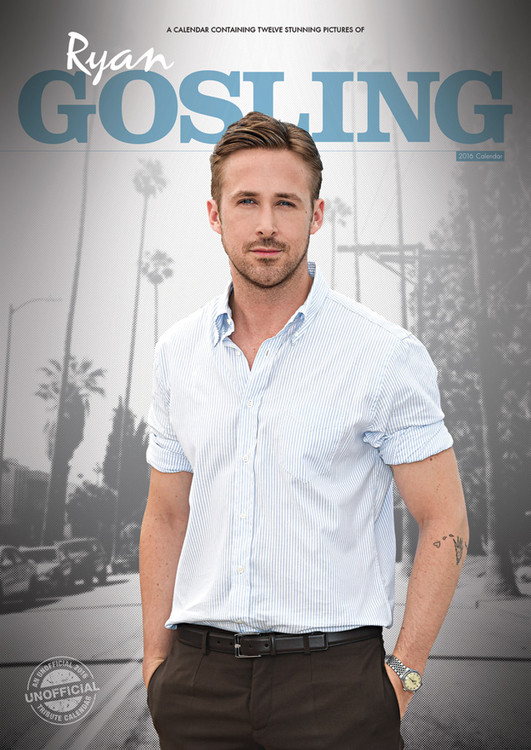 Ryan Gosling naptár 2017
