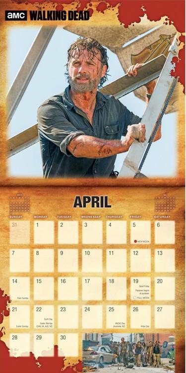 The Walking Dead naptár 2021 az Europosters.hu