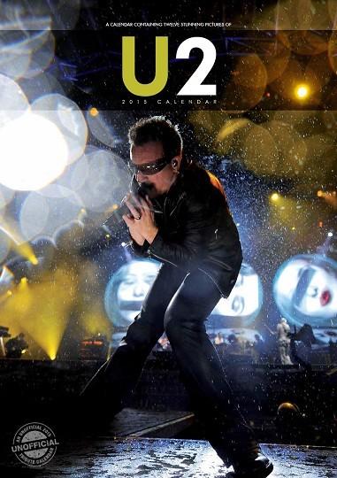U2 naptár 2017