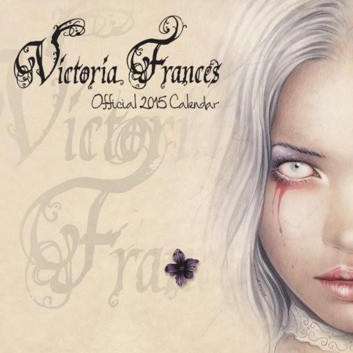 Victoria Francés  naptár 2017