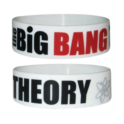 BIG BANG THEORY - logo Náramok silikonove