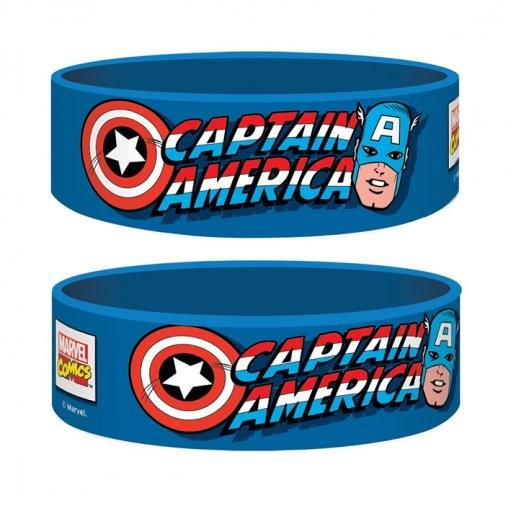 Marvel Retro - Captain America Náramok silikonove