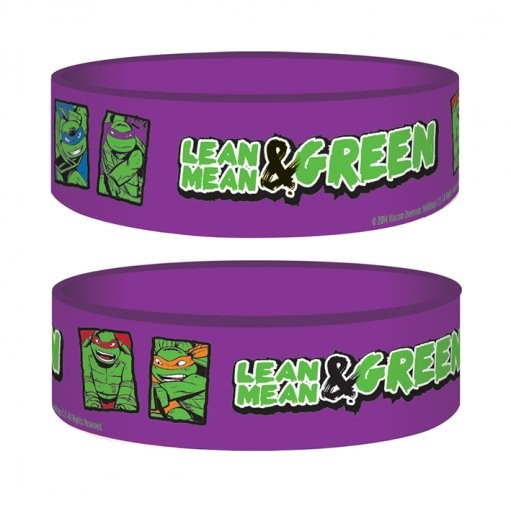 Ninja korytnačky - Lean Mean & Green Náramok silikonove