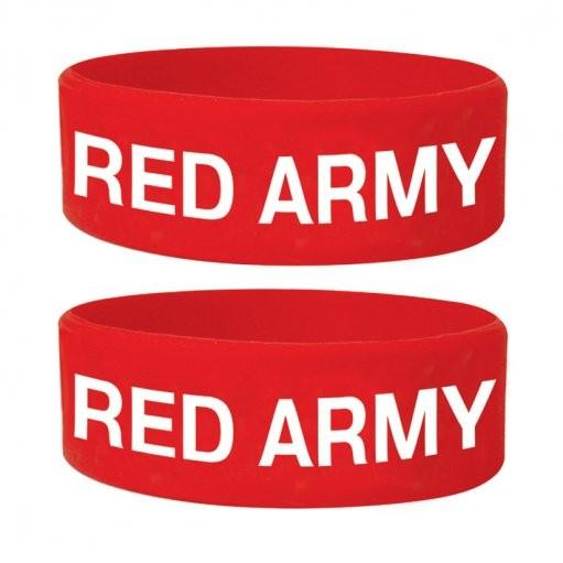 RED ARMY Náramok silikonove