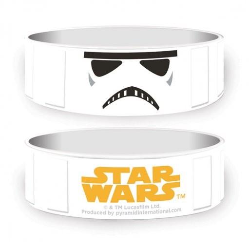 Star Wars - Stormtrooper Náramok silikonove