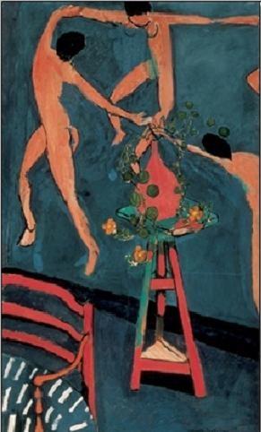 Nasturtiums with The Dance, 1912 Festmény reprodukció