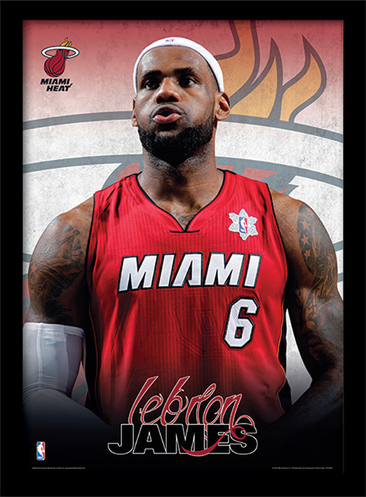 NBA - Lebron James Poster & Affisch
