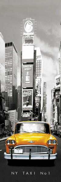 Αφίσα πόρτας  New York taxi no.1