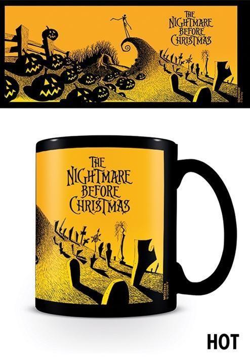 Hrnek Nightmare Before Christmas - Graveyard Scene