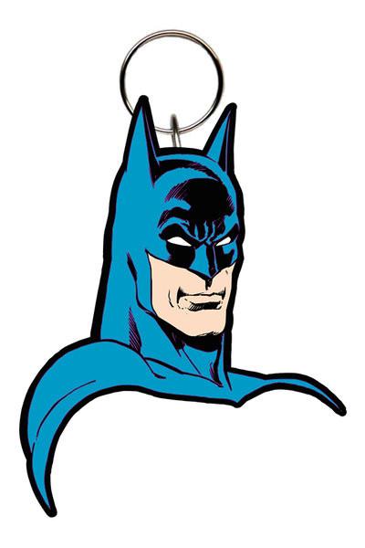 Batman Comic - Face Nøglering
