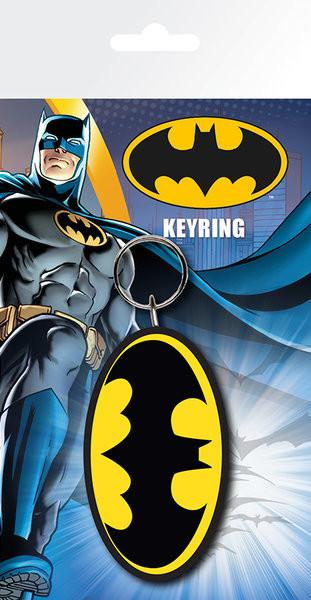 Batman Comic - Logo Nøglering