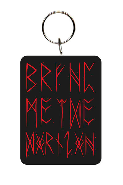 Bring Me The Horizon - Logo Red Nøglering