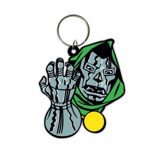 Dr Doom - Face Nøglering