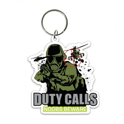 Duty Calls Nøglering