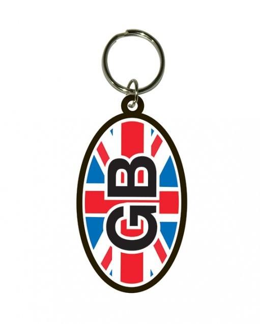 GB - Flag Union Jack Nøglering